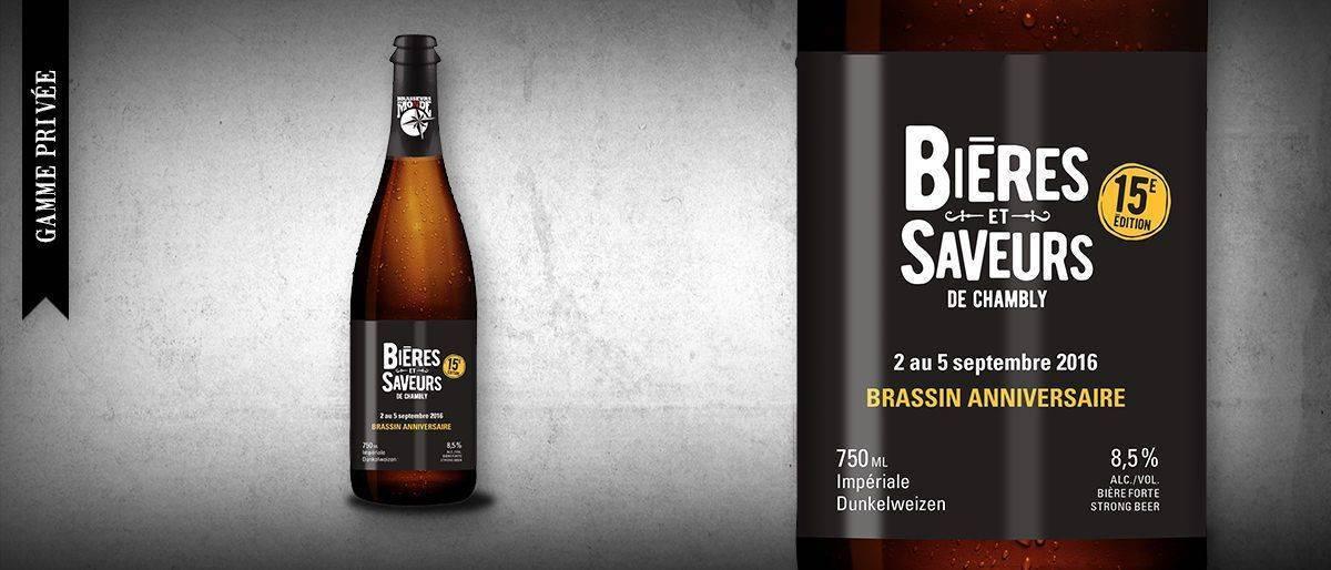 15e anniversaire Bières et Saveurs