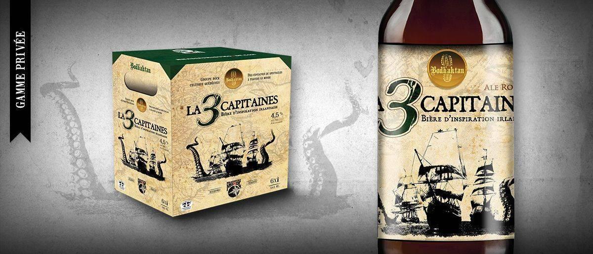 3 capitaines