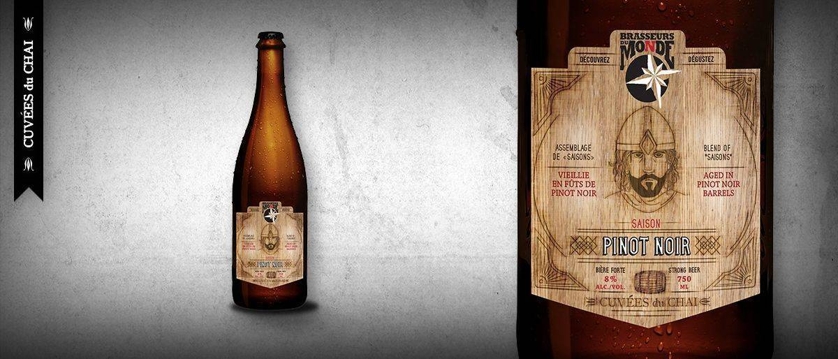 Saison Pinot Noir - Brasseurs du Monde