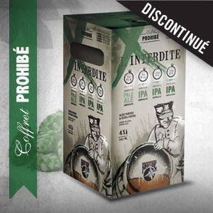 Coffret Prohibé - Brasseurs du Monde