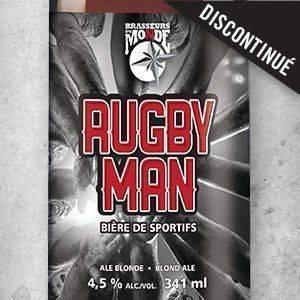Rugby Man - Brasseurs du Monde
