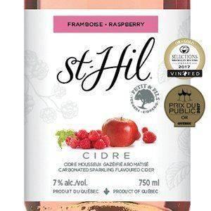 Cidre St-Hil Framboise - Brasseurs du Monde