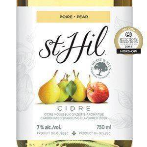 Cidre St-Hil Poire - Brasseurs du Monde