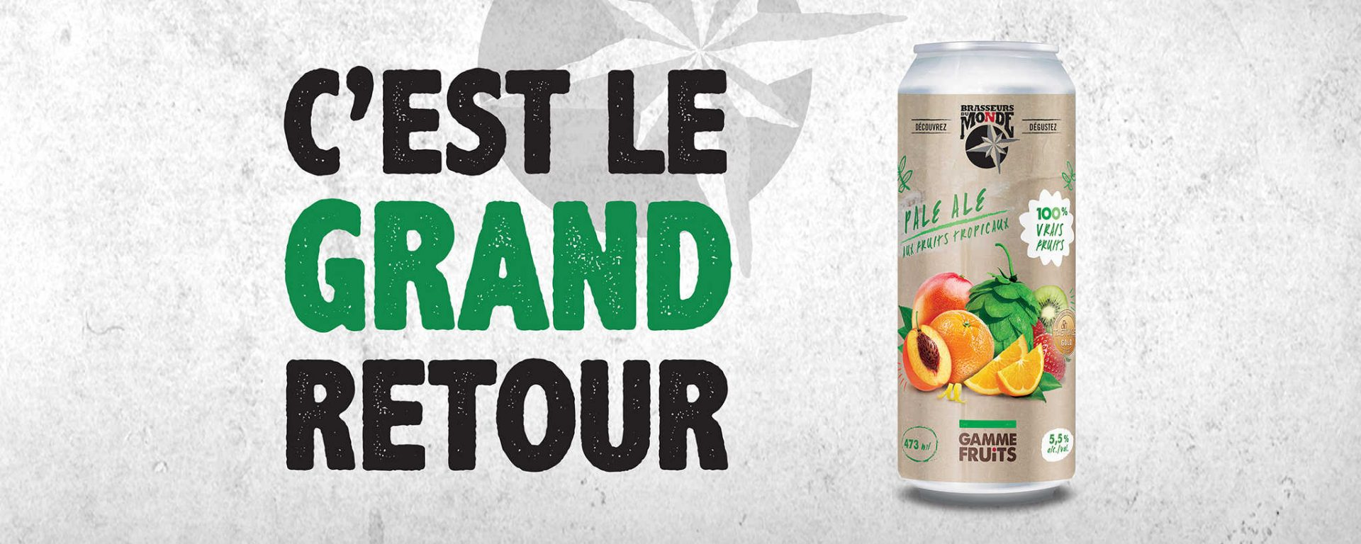 Pale Ale Fruits Tropicaux